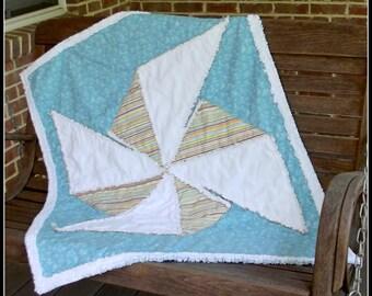 Playful Pinwheel Quilt Pattern