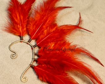 Feather Cuff by Quetzal feather