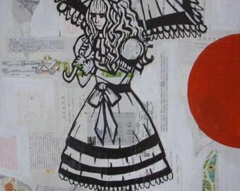 Japan Now Harajuku Girl Poster