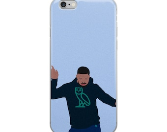 Drake Blue iPhone Case