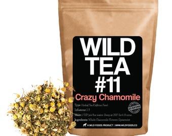Chamomile Mint Tea With Spearmint   Wild Tea #11 Crazy Chamomile (4 ounce)