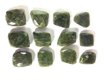 Drilled vasonite beads 22 to 31mm