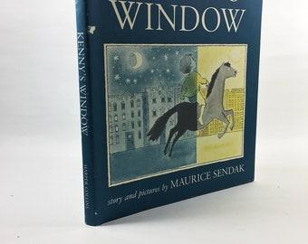 Kenny's Window by Maruice Sendak. RARE vintage book circa 1984. Sendak's first children's book! Story of a young boy's wonderful imagination