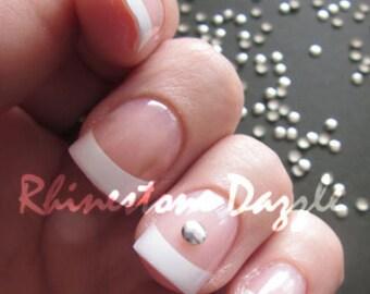 3mm silver round nail studs, 3D nail art, diy nail art, nail art, nail decoration, 3mm nail studs,