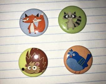Forest friends magnets