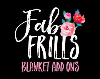 Blanket Add Ons