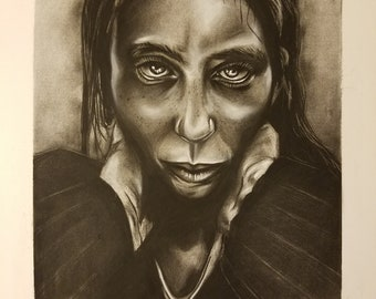 Lee Jeffries Study Lady