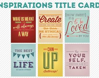 mio scrapbooking digitale di vita 365 - carte di ispirazioni vita progetto diario pocket-
