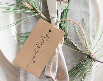 Woodland Wedding - Hang Tags (Style 13768)