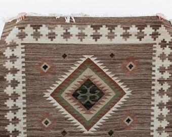 Vintage Southwestern Wool Rug