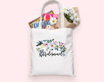 Bridesmaid tote bag | Bridesmaids | Wedding Party Gift | Bridesmaid | Wedding Gift | Wedding Party | Bridemaids Gift | Bridesmaid Gift