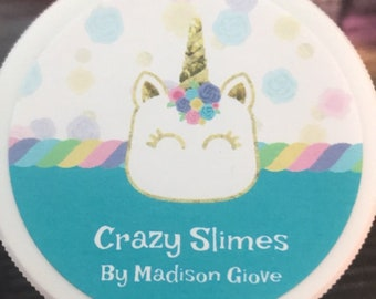 Crazy Slimes by Maddie