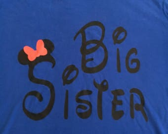Disney Big Sister Shirt