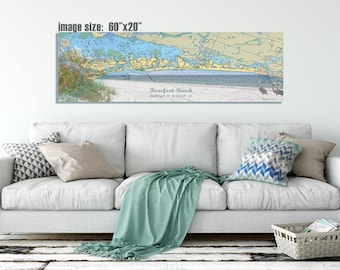 Bonita Springs, FL Nautical Wall Art:  Gallery Wrapped Canvas
