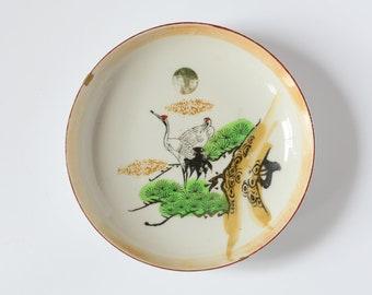 Kintsugi Crane plate