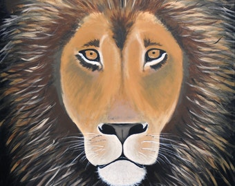 Great Lion 8x10 print