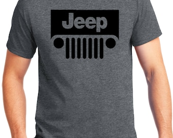 PubliciTeeZ Big and Tall King Size Classic Jeep Logo T-Shirt