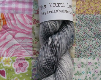"""4 Ply """" Weeping Angels """" Hand dyed sock yarn ."""
