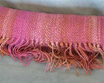 Confection - Hand woven bamboo and silk scarf