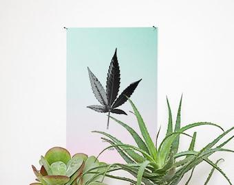 Affiche — Cannabis ruderalis