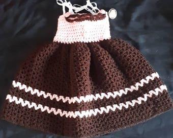 Gingerbread Girl Sleeveless Dress