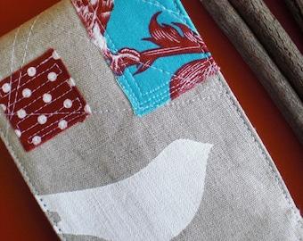 Linen memo pad cover  1