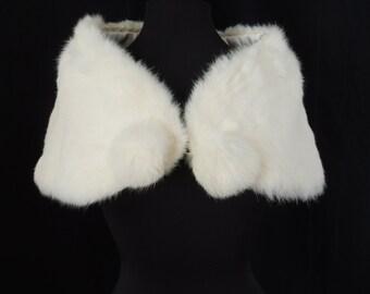 Vintage Rabbit Fur Stole (Junior Size)