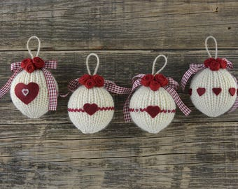 Christmas id balls Romantic chic