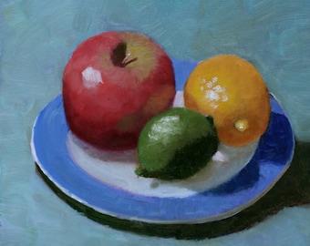 An Apple, a lemon, and a lime walk into a bar...
