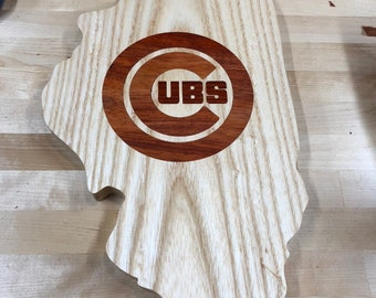 Illinois Chicago Cubs cutout