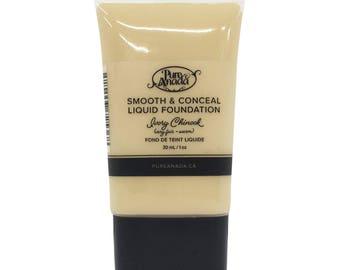 Ivory Chinook Liquid Foundation: Very Fair (Warm)