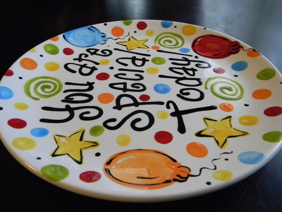 & Birthday Plate Itu0027s Your Special Day 10 Inch Ceramic