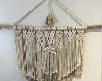 Large Handmade Macrame Wall Hanging