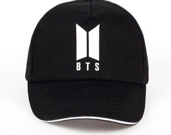 Kpop BTS Group Hats, Caps Adjustable Baseball, BTS Cotton Baseball Caps, Unisex Baseball Hats, Men and Womens Caps, Comfortable Caps