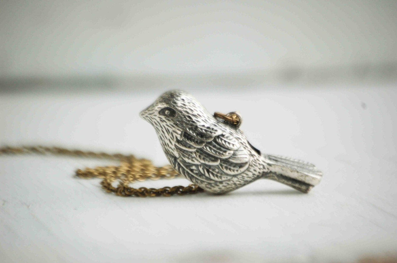 love necklace swallow product heart thumbnail bird