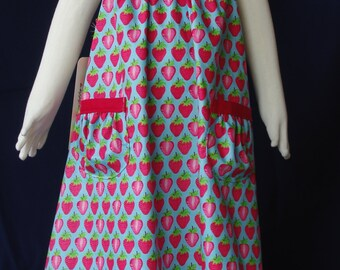 Strawberry Delight Sundress - Size 4 - Adore the Cloth