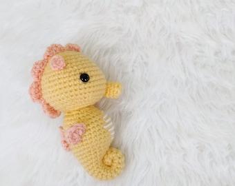 Pattern: Crochet Seahorse Pattern, Amigurumi Seahorse Pattern, Pattern Tutorial Crocheted Seahorse, Amigurumi Seahorses, PDF Crochet Pattern