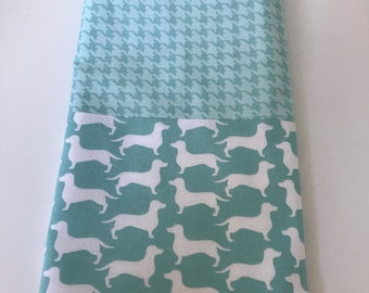 Dachshund / Sausage Dog Kitchen Tea Towel