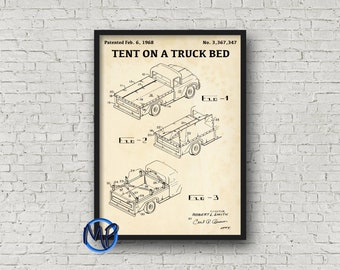 Production of vodka blueprint art digital download bar pickup truck tent patent print retro 1968 patent poster blueprint art patent illustration cabin decor camping gift patent art malvernweather Images