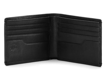 Eastwood Nappa CLASSIC Bifold Wallet • Mens Leather Wallet • PERSONALIZED Leather Wallet • Anniversary Gift • Graduation Gift • Men's Gifts