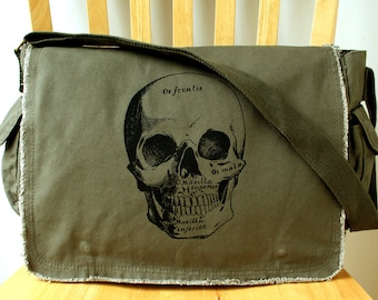 Skull Messenger Bag Cross Body Bag for Men Bag for Women