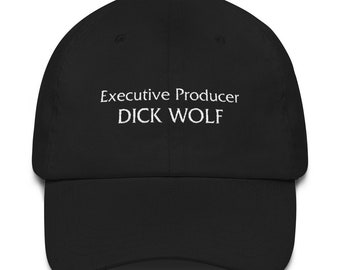 Executive Producer Dick Wolf Dad Hat Black