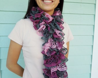 Ruffle Scarf in Gorgeous Colors