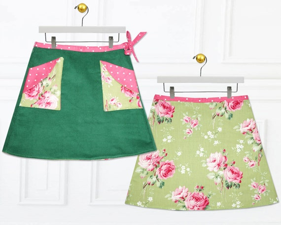 Girls skirt pattern, Skirt Patterns, Childrens sewing pattern, Wrap ...