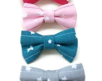 Set of 4 strips starred bow