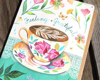 Feeling Grateful - Greeting Card