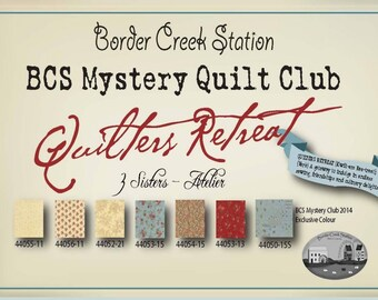 Quilter's Retreat Mystery Quilt