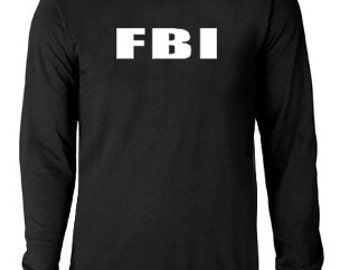 Long sleeve T-shirt / FBI