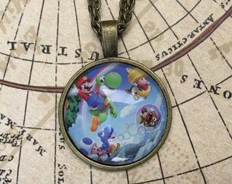 New Super Mario Necklace