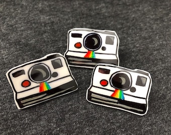 Retro pin - Polaroid camera